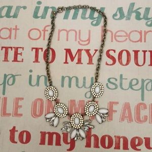 J. Crew Necklace in White